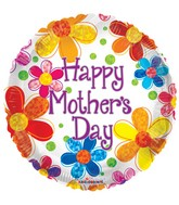 """18"""" Mother's Day Multicolored Flowers"""