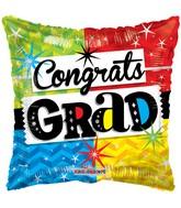"""18"""" Grad Multicolor Balloon"""