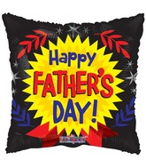 """18"""" Happy Father's Day Medal Balloon"""
