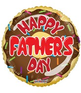 "18"" Happy Father's Day Donut Balloon"