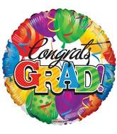 """18"""" Congrats Grad Balloons Balloon"""