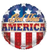 "18"" God Bless America Balloon"