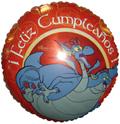 "18"" Feliz Cumpleanos Dragon"