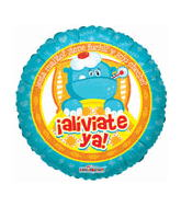 """18"""" Aliviate Ya Hipo"""