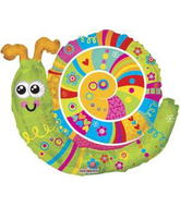 "28"" Colorful Snail Balloon"