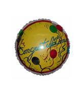 """18"""" Congratulations Yellow Balloon"""