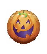 "36"" Pumpkin Funny Balloon"