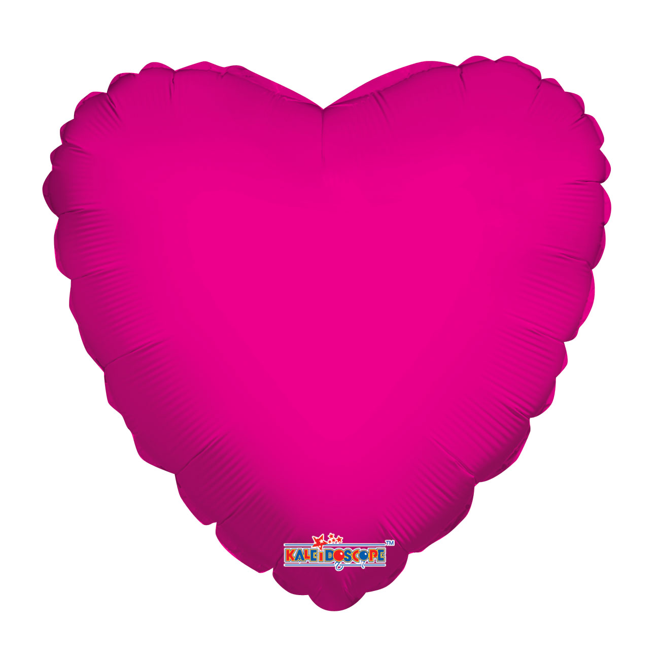 """4"""" Aifill Only Hot Pink Heart"""
