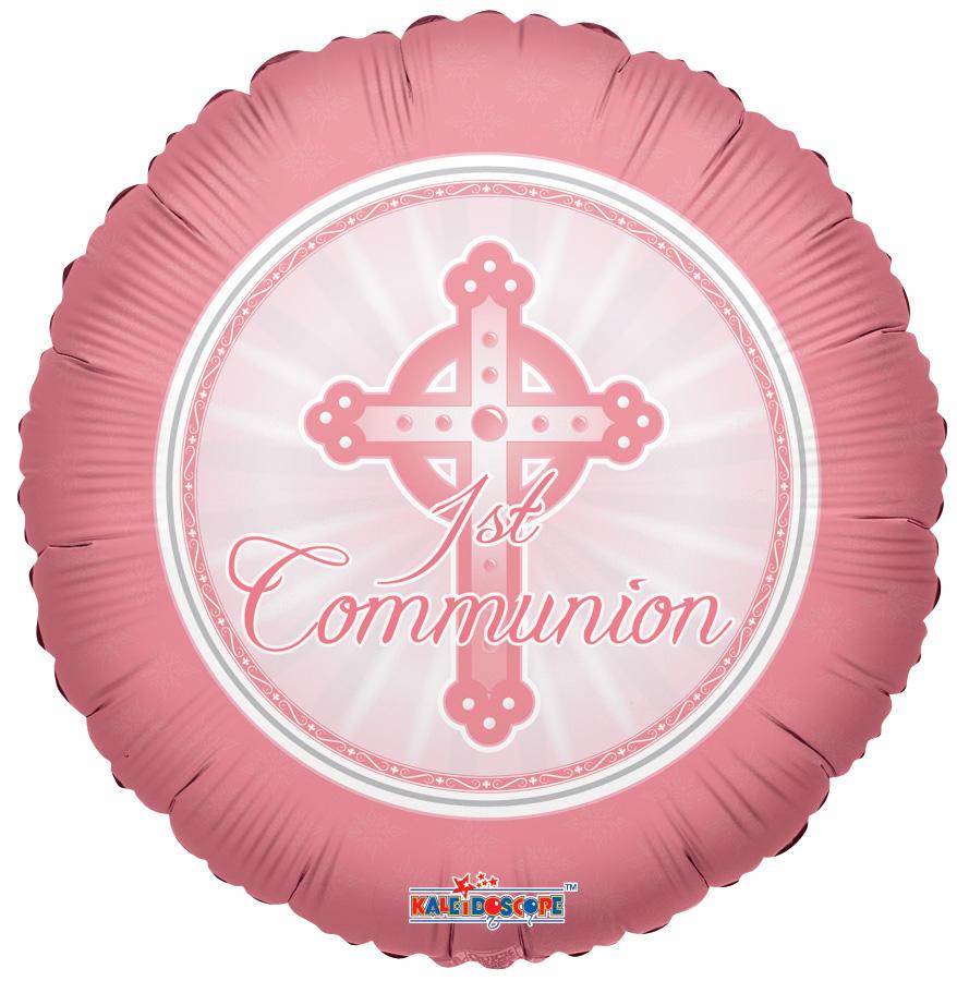 "18"" 1st Communion Pink"