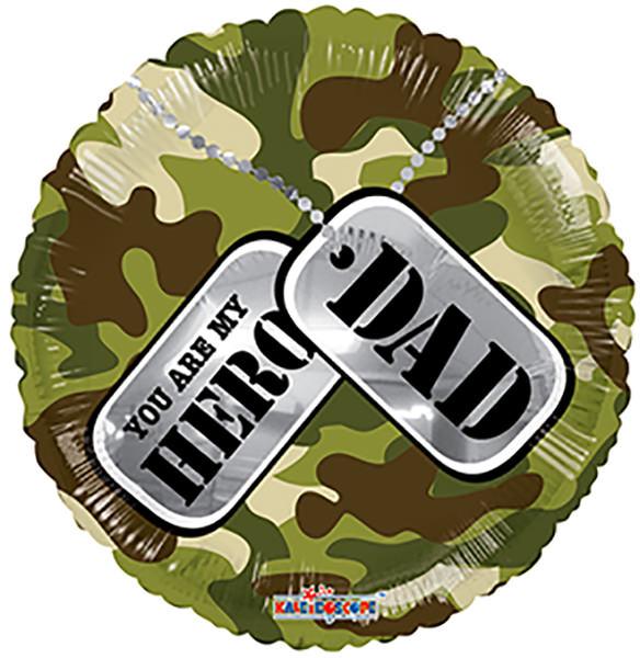 "18"" My Hero Dad Balloon"