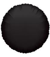 """4"""" Round Black Brand Convergram Balloon"""