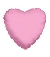 """4"""" Heart Pink Brand Convergram Balloon"""