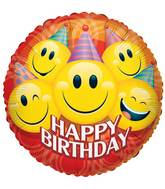 """9"""" Airfill Only Party Smilies Birthday Balloon"""