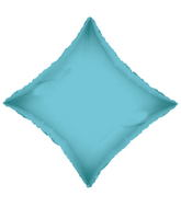 "21"" Solid Diamond Baby Blue Brand Convergram Balloon"