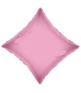 "18"" Solid Diamond Baby Pink Brand Convergram Balloon"
