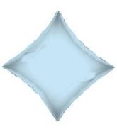 "21"" Solid Diamond Light Blue Brand Convergram Balloon"