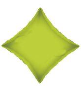 "21"" Solid Diamond Lime Green Brand Convergram Balloon"