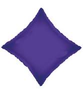 "21"" Solid Diamond Purple"