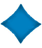 "21"" Solid Diamond Royal Blue Brand Convergram Balloon"