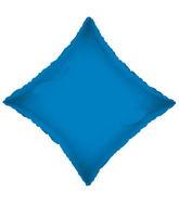 "21"" Solid Diamond Royal Blue Brand Convergram Balloon"