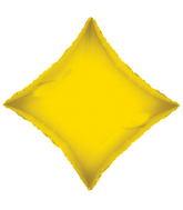 "21"" Solid Diamond Yellow Brand Convergram Balloon"
