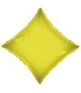 "21"" Solid Diamond Opaque Citrine Yellow Convergram"