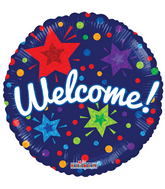 Welcome Back/Welcome Mylar Balloons