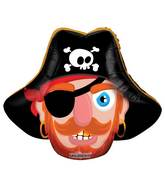 """14"""" Airfill Only Pirate Mini Shape Balloon"""
