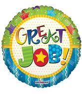"18"" Great Job Multicolor Balloon"