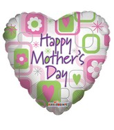 "36"" Happy Mother'S Day Balloon Squares"