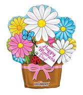 """18"""" Mother's Day Flowerpot Shape"""