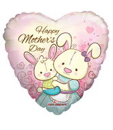 """18"""" Happy Mother's Day Bunny Mom"""