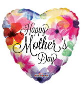 """18"""" Mother's Day Painted Flowers"""