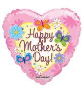 "18"" Mom Flowers & Butterflies"