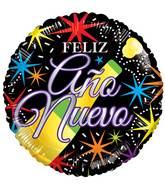 "17"" Feliz Ano Nuevo Balloon"