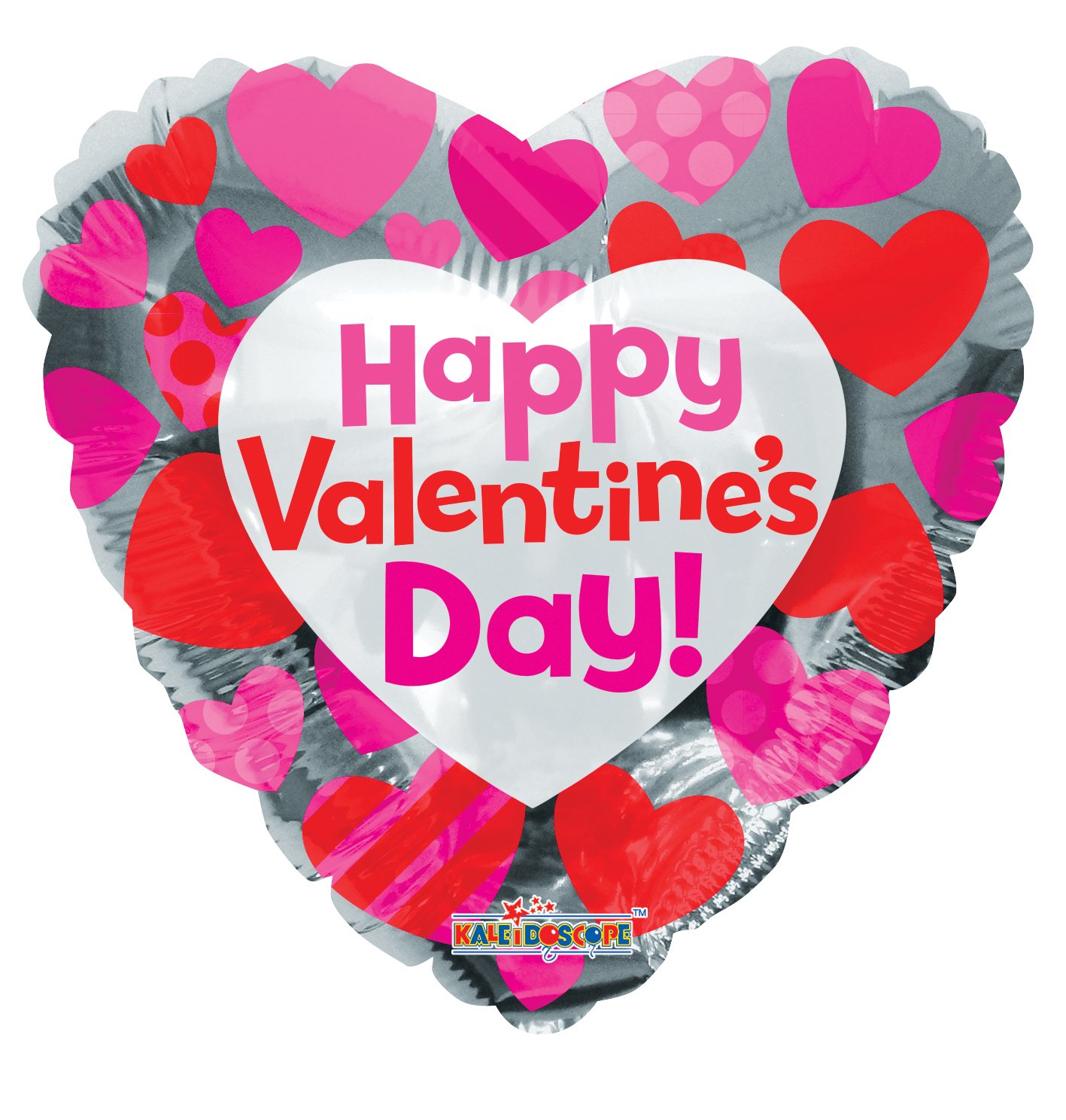 "18"" Happy Valentine's Day Classic Hearts"