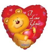 """36"""" Cute Bear I Love You"""