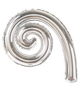 "14"" Airfill Only Kurly Spiral Silver"