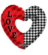 "9"" Aifill Only Love Pattern Shape"