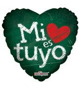 """26""""  Mi Es Tuyo Globos"""