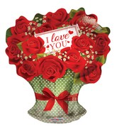 """18"""" I Love You Roses Branch"""
