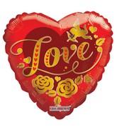 "18"" Cupid Gold Love"
