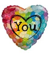"18"" Colorful Love"
