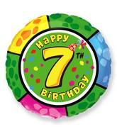 """18"""" Round Number 7 Balloon"""