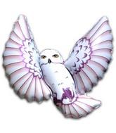 "31"" Owl Brown Streak Feathers"