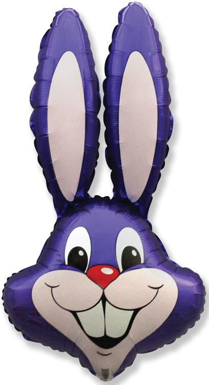 "35"" Rabbit Head Violet"
