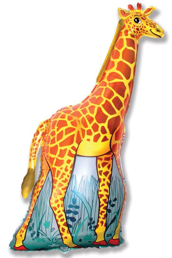 "47"" Giraffe Orange"