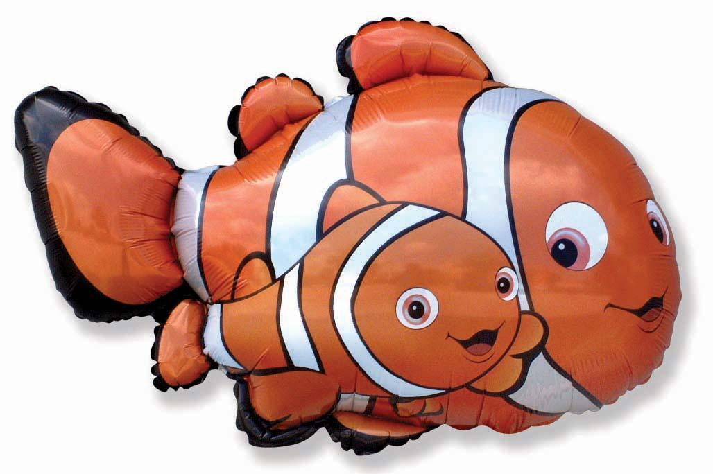 """27"""" Clownfish 2 Balloon"""