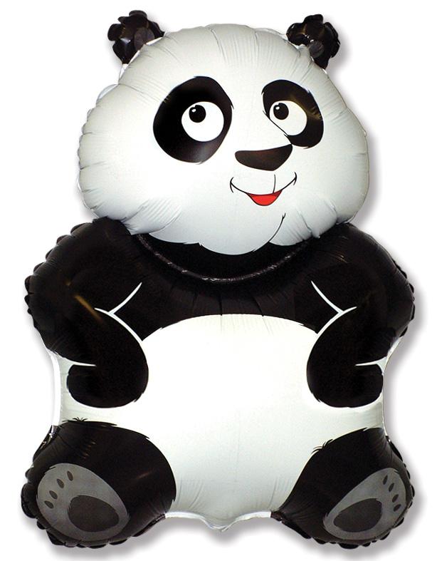 "34"" Jumbo Big Panda Balloon Bear"