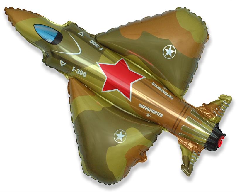 "38"" Military Fighter Jet Plane Balloon"
